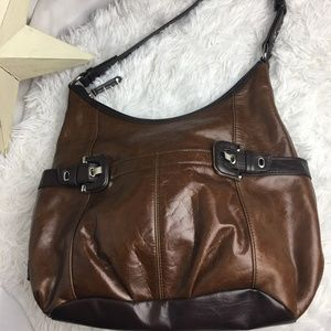 Tignanello Brown Shoulder Purse